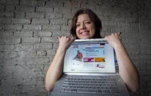 SOSsitter founder Paulina Podgorska in La Presse