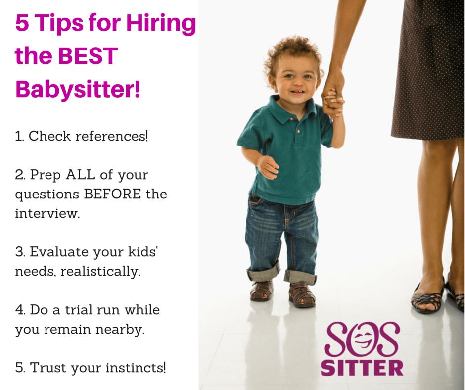 5 Tips for Hiring the BEST Babysitter (2)